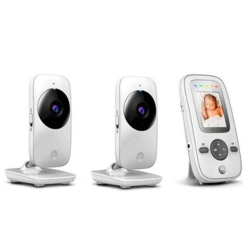 Baba Eletronica Motorola Mbp-481 com 2 Cameras