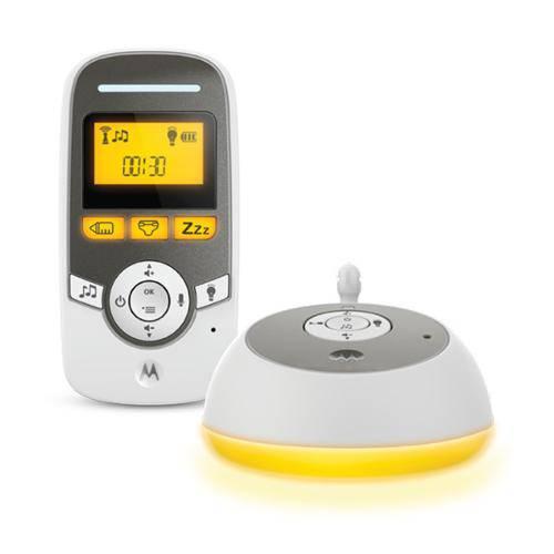 Babá Eletrônica Motorola Mbp161 Timer 2v - Branco/Cinza