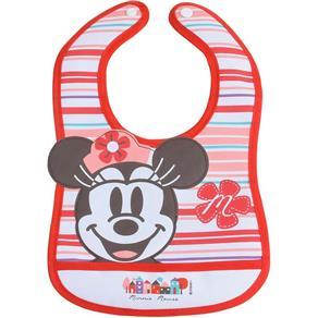Babador Baby Go Minnie 3D, Rosa