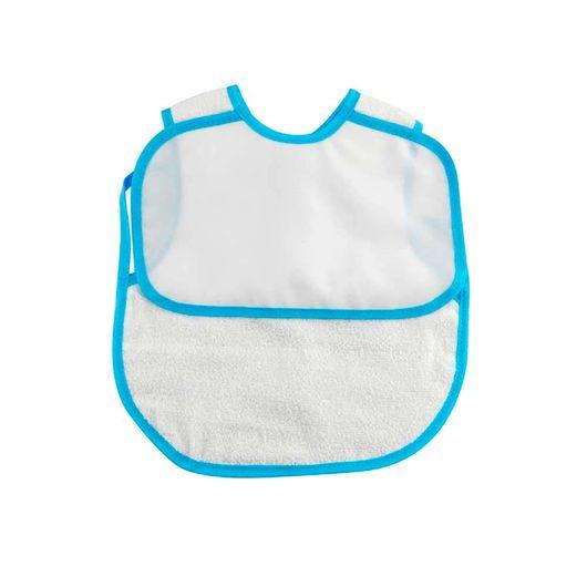 Tudo sobre 'Babador de Vestir com Viés Azul para Sublimação Ref: 5050/29'