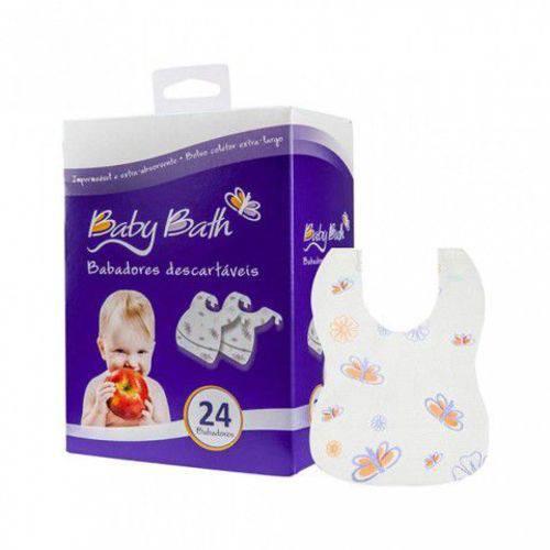 Tudo sobre 'Babador Descartável C/24 Baby Bath'