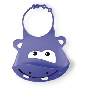 Babador Infantil de Silicone Hipopotamo - Multikids Baby
