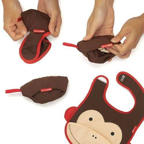 Tudo sobre 'Babador-Skip-Hop-Zoo-Macaco'