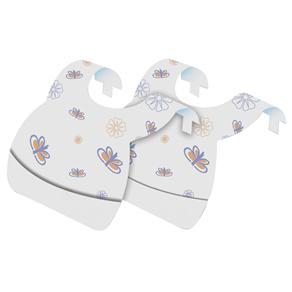 Babadores Descartáveis Baby Bath com 24 Unidades