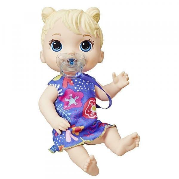 Baby Alive Bebê Primeiros Sons Loira Hasbro