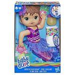 Baby Alive Boneca Linda Sereia Hasbro Morena E3691
