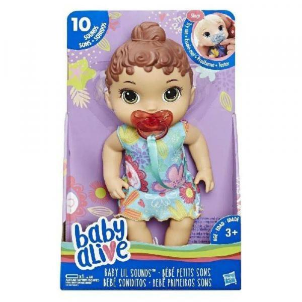 Baby Alive Boneca Primeiros Sons Morena - Hasbro
