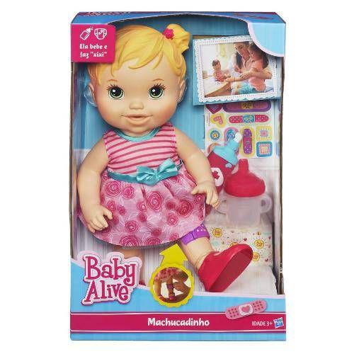 Tudo sobre 'Baby Alive Machucadinho - Hasbro'