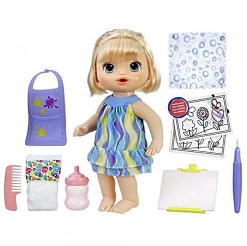 Tudo sobre 'Baby Alive Pequena Artista Loira - Hasbro'