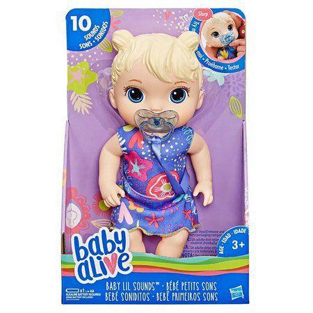 Baby Alive Primeiros Sons Loira- Hasbro- E3690