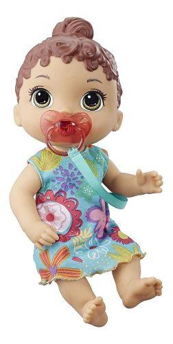 Baby Alive Primeiros Sons Morena - Hasbro