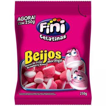 Bala Beijos de Morango Fini