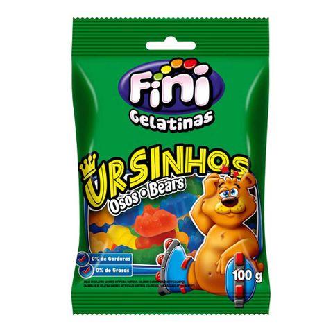 Bala de Gelatina Ursinhos Brilho 100g - Fini