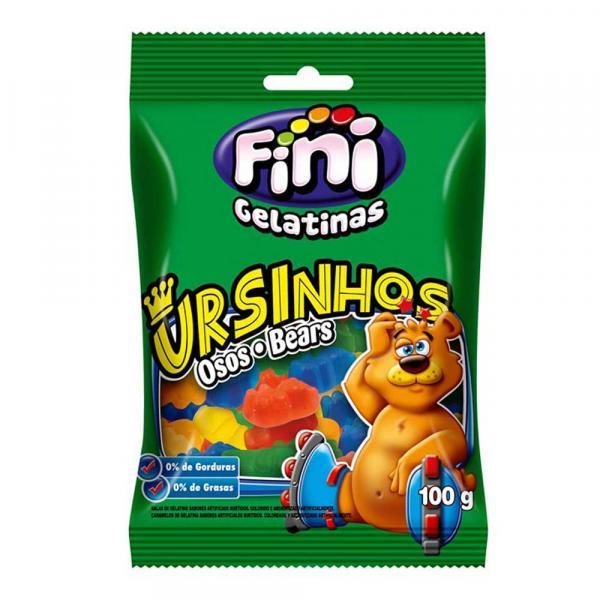 Bala de Gelatina Ursinhos Brilho 110g - Fini