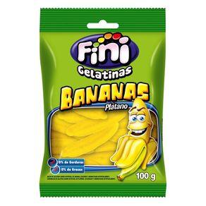 Bala Fini Gelatinas Banana 100g
