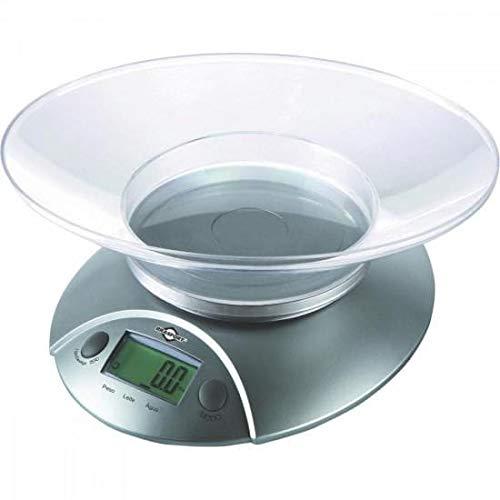 Balança de Cozinha Digital 5Kg Cinza 56947 Brasfort