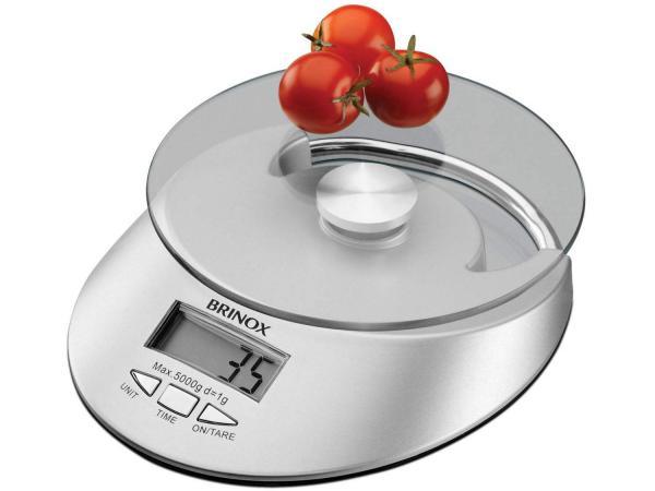 Balança de Cozinha Digital Brinox - 2922/100 1g Até 5 Kg