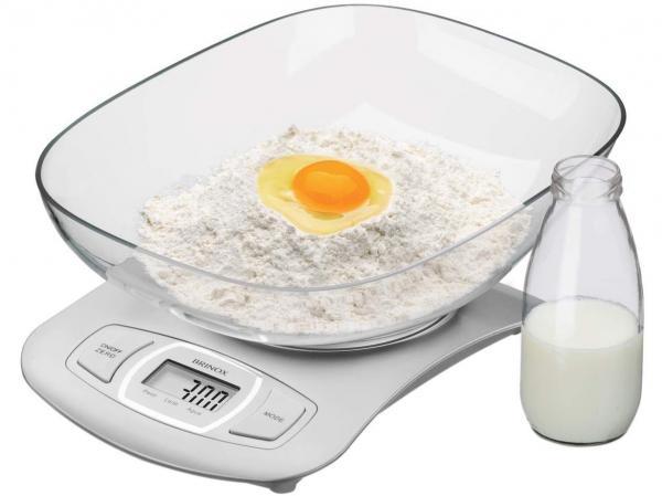 Balança de Cozinha Digital Brinox 2922/100 - 1g Até 5 Kg
