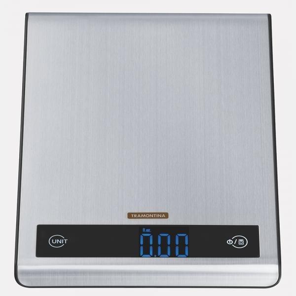 Balança Digital Aço Inox para Cozinha Tramontina