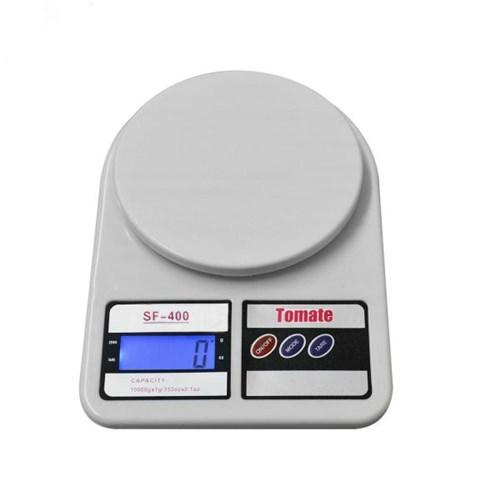 Tudo sobre 'Balança Digital Eletrônica de Precisão Sf-400 Até 10kg Cozinha Marca Tomate Cor Branca'