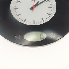 Balança Digital de Precisão C/ Relógio Analógico