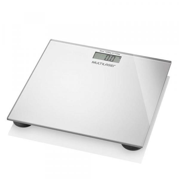 Balança Digital Digi Health Prata - Multilaser