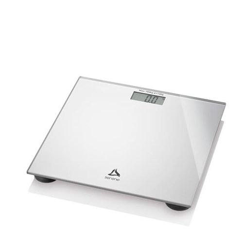 Balança Digital Digi-Health Serene Multilaser HC021 Prata