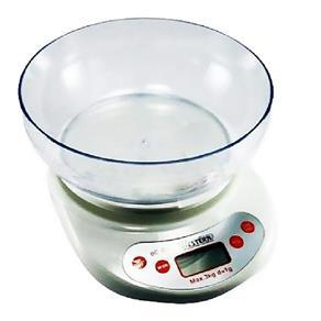 Balança Digital 3kg para Cozinha