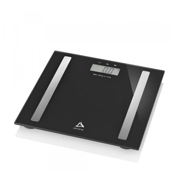 Balança Digital Multilaser Digi-Health Pro HC030 Preta