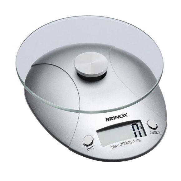 Balança Digital para Cozinha 3 Kg Brinox