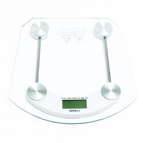 Balança para Banheiro Vidro Quadrada Digital 180 Kg Dasshaus