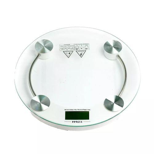 Balança Redonda de Banheiro Digital Alta Precisão 10kg