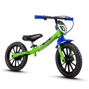 Bicicleta Infantil Feminina Verde Balance Nathor
