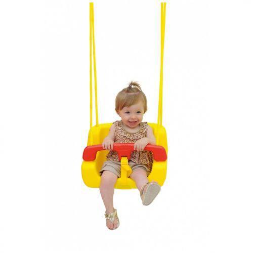 Balanço Infantil Amarelo Xalingo Brinquedos Amarelo