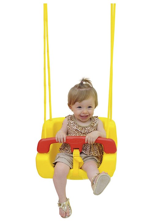 Balanço Infantil Amarelo Xalingo