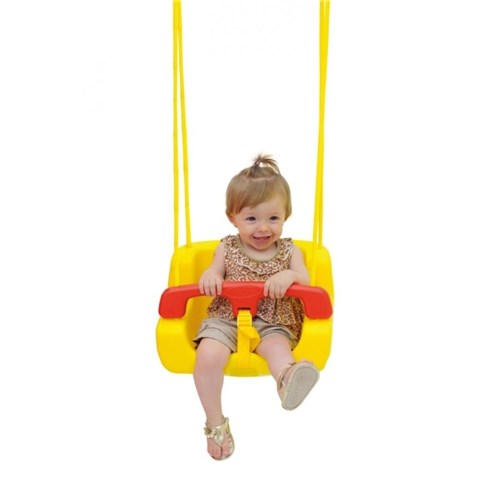 Balanço Infantil Amarelo - Xalingo