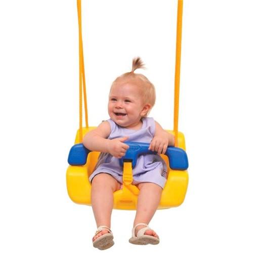 Balanço Infantil de Plástico Amarelo - Xalingo