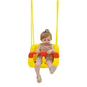 Balanço Infantil em Plástico Amarelo/Vermelho 02876 - Xalingo