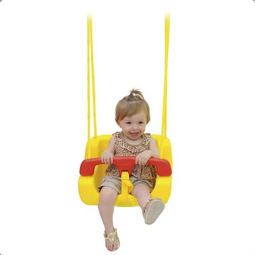Balanço Infantil em Plástico Individual Bal-In Xalingo - Amarelo