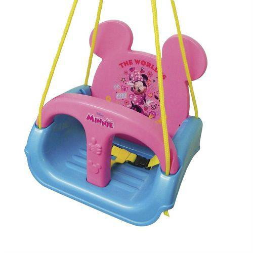 Tudo sobre 'Balanço Infantil Minnie 3 em 1 Disney 19809'