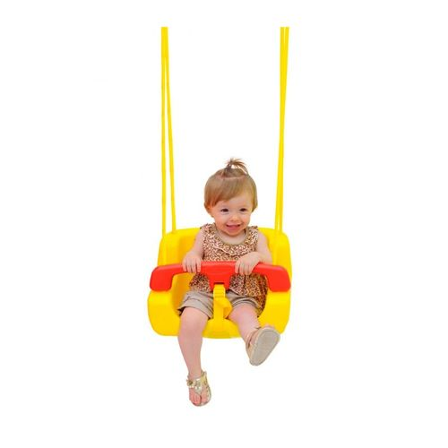 Balanço Infantil Xalingo   Amarelo