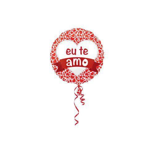 Balão Metalizado eu te Amo