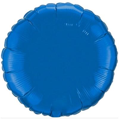 """Tudo sobre 'Balão Redondo 20"""" - Importado - Metalizado - Azul - Unidade'"""