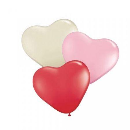 Tudo sobre 'Balão São Roque Coração N.6 Colorido - 50 Unidades'