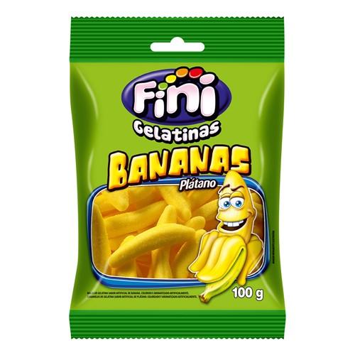 Balas de Gelatina Fini Banana 100g