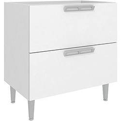 Balcão de Cozinha Art In Móveis CZ616 2 Gavetões - Branco