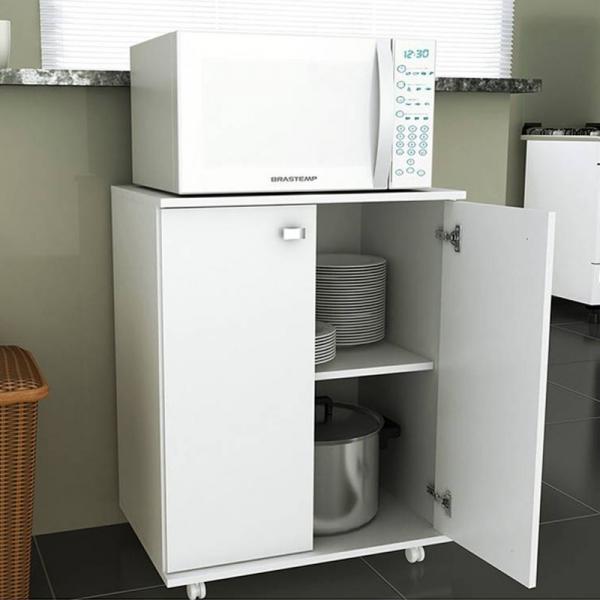 Balcão de Cozinha BL3300 2 Portas Branco - Tecno Mobili