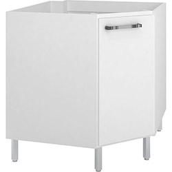 Balcão de Cozinha Movelbento BCM030 1 Porta - Branco