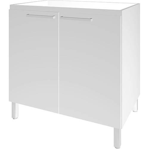 Balcão de Cozinha Movelbento BCM013 2 Portas - Branco