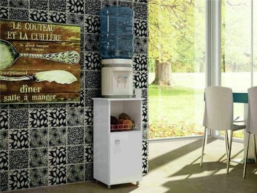 Balcão Fruteira com Porta Milena Branco Móveis Art In